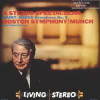 Camille Saint-Saëns, Boston Symphony Orchestra / Charles Munch, Berj Zamkochian – A Stereo Spectacular (Symphony No. 3) (LP, Album, RM)