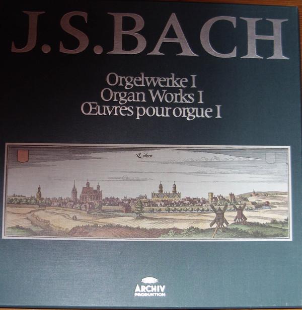 Johann Sebastian Bach – Helmut Walcha – Orgelwerke I – Organ Works I – Œuvres Pour Orgue I (Vinyl)