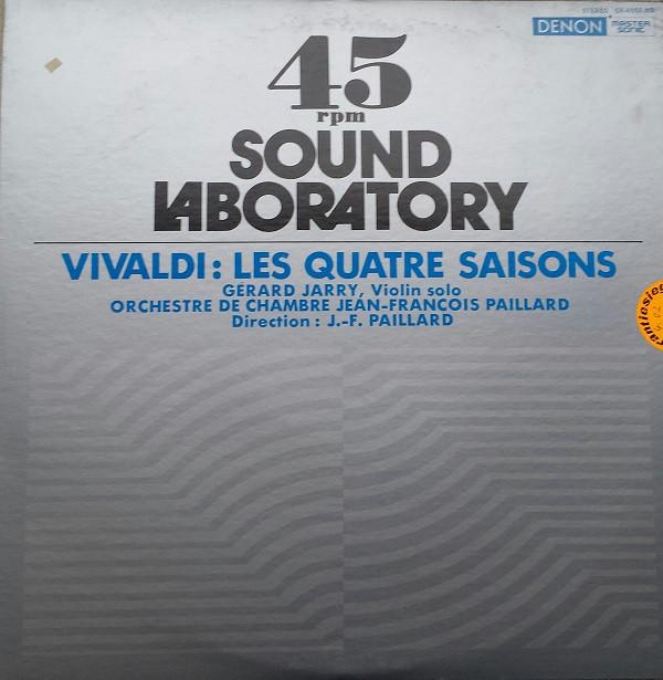 Antonio Vivaldi – Gérard Jarry, Orchestre De Chambre Jean-François Paillard , Direction : Jean-François Paillard – Les Quatre Saisons (Vinyl)