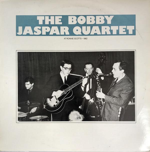 Bobby Jaspar Quartet – The Bobby Jaspar Quartet At Ronnie Scott's 1962 (LP, Album, Mono)