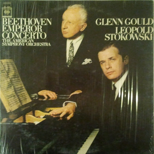 Ludwig van Beethoven ; The American Symphony Orchestra ; Glenn Gould ; Leopold Stokowski – Emperor Concerto (LP, RM) (Near Mint (NM or M-))