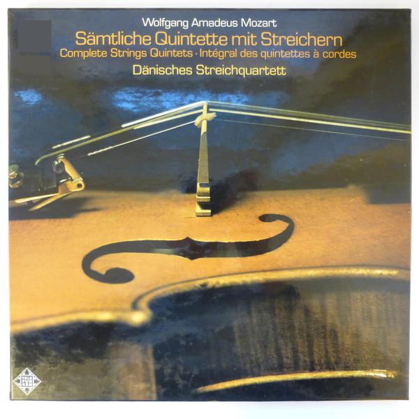 Wolfgang Amadeus Mozart, Dänisches Streichquartett – Sämtliche Quintette Mit Streichern / Complete Strings Quintets / Intégral Des Quintettes à Cordes (5xLP + Box) (Near Mint (NM or M-))