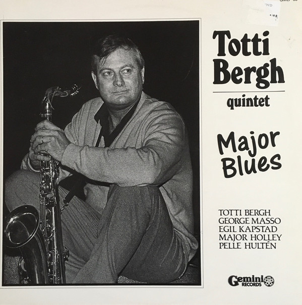 Totti Bergh Quintet – Major Blues (LP, Album) (Near Mint (NM or M-))
