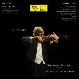 Niccolò Paganini, Salvatore Accardo, Orchestra da Camera Italiana – N. Paganini – Salvatore Accardo (Vinyl)