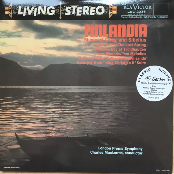 The London Proms Symphony Orchestra, Sir Charles Mackerras – Finlandia – Music Of Grieg And Sibelius (Vinyl)