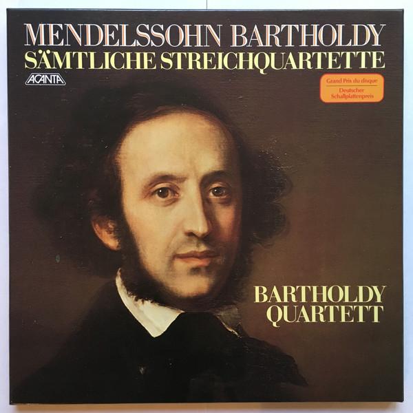 Felix Mendelssohn-Bartholdy, Bartholdy Quartett – Sämtliche Streichquartette (Vinyl)