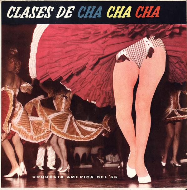 Orquesta América – Clases De Cha Cha Cha (LP, Mono, RE) (Very Good (VG))