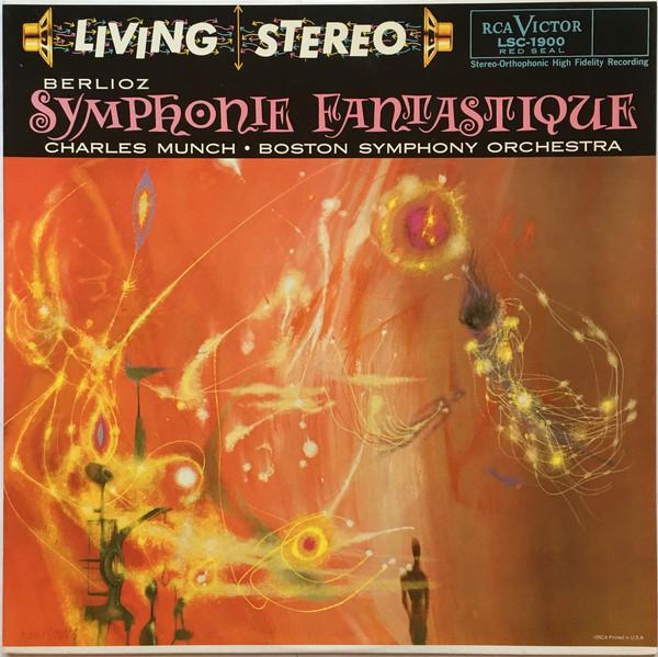 Hector Berlioz, Charles Munch, Boston Symphony Orchestra – Symphonie Fantastique (Vinyl)