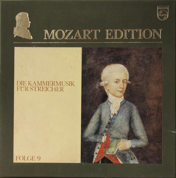 Wolfgang Amadeus Mozart – Mozart Edition 9 ● Die Kammermusik Für Streicher (Vinyl)