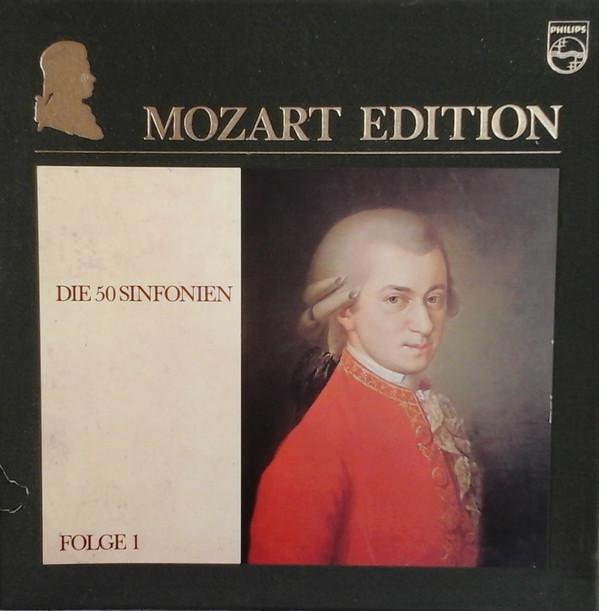 Wolfgang Amadeus Mozart – Mozart Edition 1 ● Die 50 Sinfonien  (Vinyl)