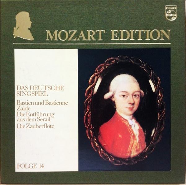 Wolfgang Amadeus Mozart – Mozart Edition 14 ● Das Deutsche Singspiel (Vinyl)