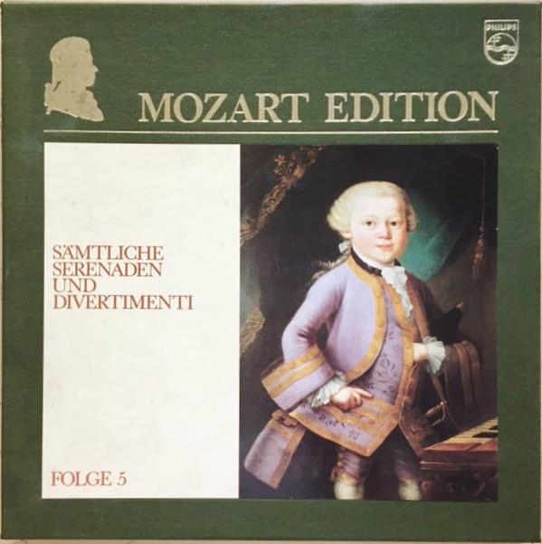 Wolfgang Amadeus Mozart – Dresdner Philharmonie, Staatskapelle Dresden, Philharmonisches Oktett Berlin – Mozart Edition 5 ● Sämtliche Serenaden Und Divertimenti (Vinyl)