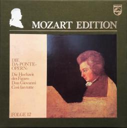 Wolfgang Amadeus Mozart – Mozart Edition 12 ● Die Da-Ponte-Opern: Die Hochzeit des Figaro, Don Giovanni, Così fan tutte (Vinyl)