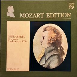 Wolfgang Amadeus Mozart – Mozart Edition 13 ● Opera Seria: Idomeneo – La Clemenza Di Tito (Vinyl)
