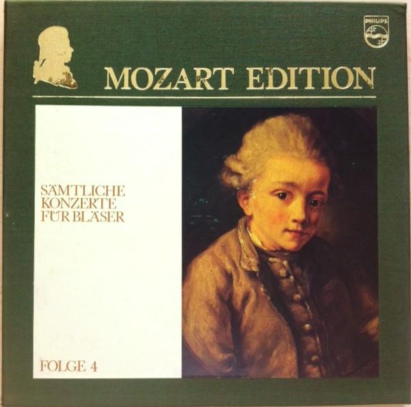 Wolfgang Amadeus Mozart – Mozart Edition 4 ● Sämtliche Konzerte Für Bläser (Vinyl)