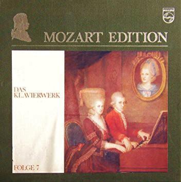 Wolfgang Amadeus Mozart – Mozart Edition 7 ● Das Klavierwerk (Vinyl)