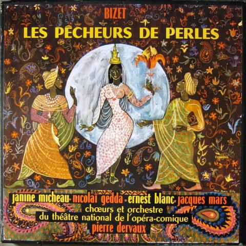Bizet*, Janine Micheau, Nicolaĩ Gedda*, Ernest Blanc, Chœurs* Et Orchestre Du Théâtre National De L'Opéra-Comique, Pierre Dervaux (2) – Les Pêcheurs De Perles (Vinyl)