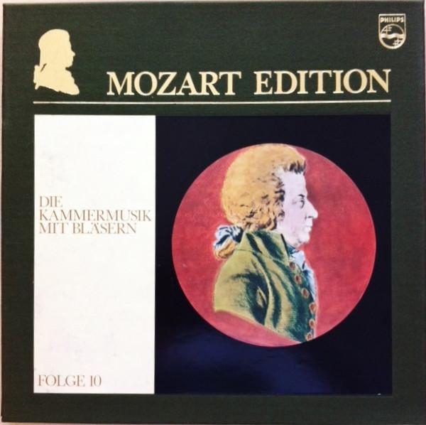 Wolfgang Amadeus Mozart – Mozart Edition 10 ● Die Kammermusik Mit Bläsern (Vinyl)