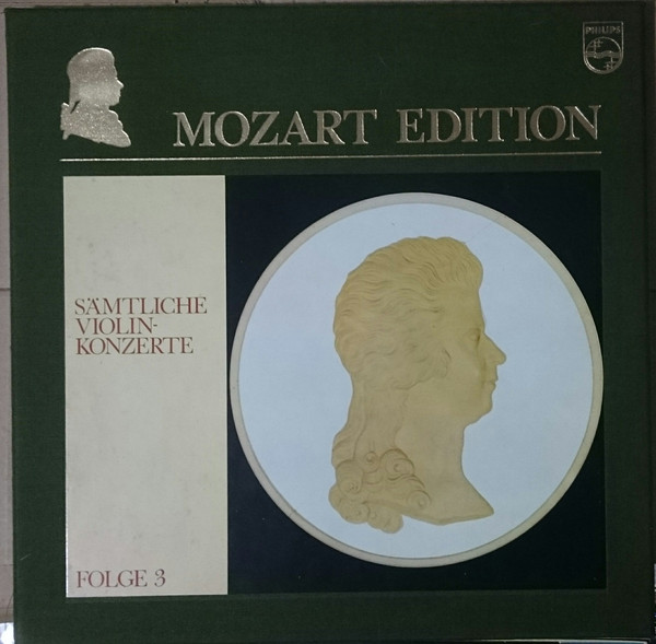 Wolfgang Amadeus Mozart – Henryk Szeryng, Sir Alexander Gibson*, New Philharmonia Orchestra – Mozart Edition 3 ● Sämtliche Violinkonzerte (Vinyl)
