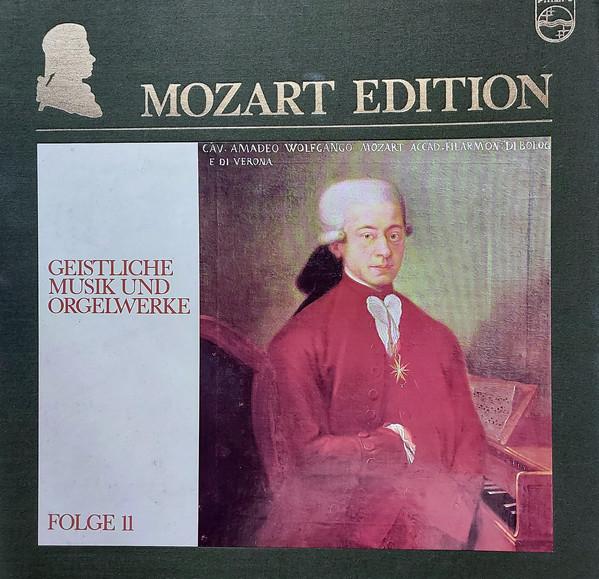 Wolfgang Amadeus Mozart – Mozart Edition 11 ● Geistliche Musik Und Orgelwerke (Vinyl)